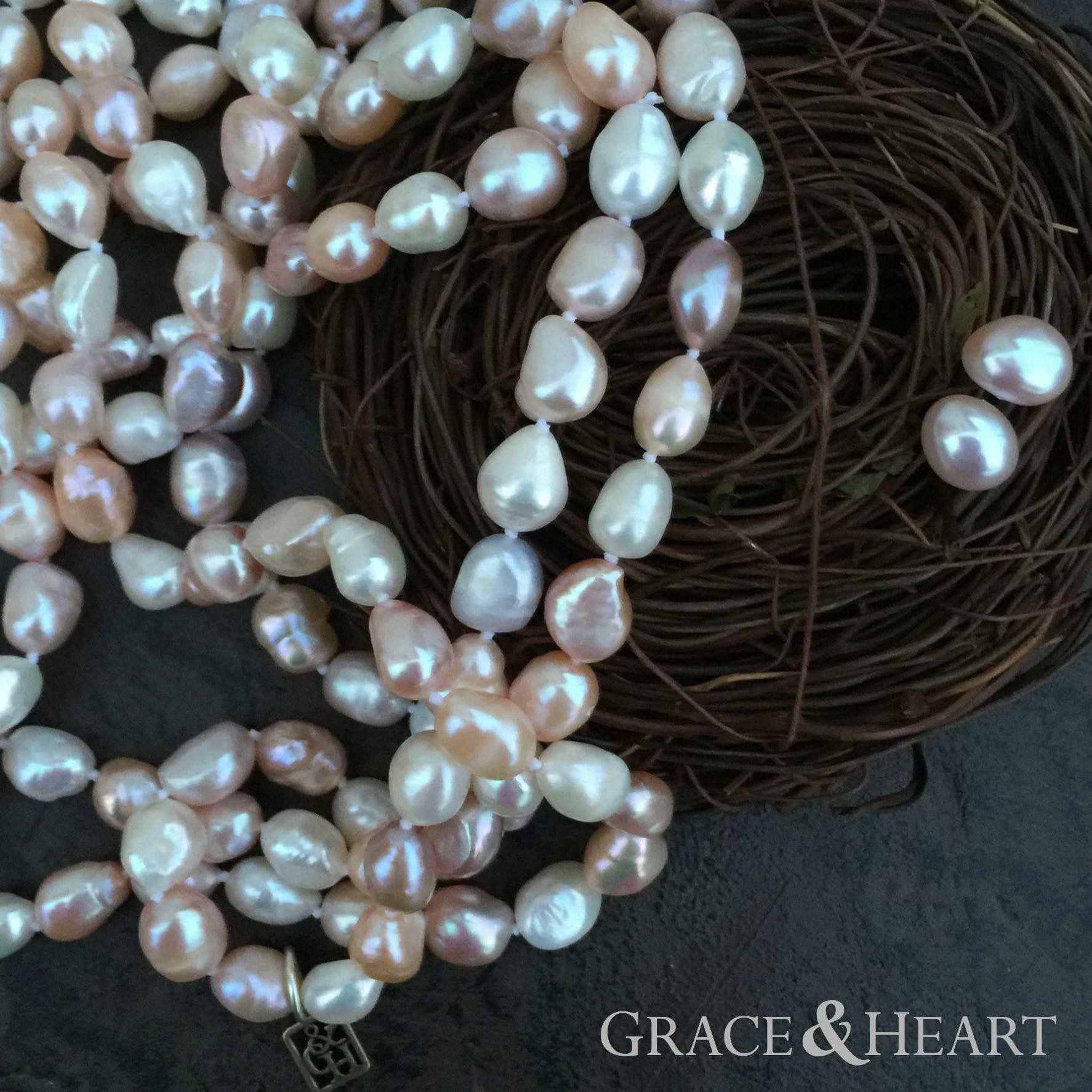 Order our Luster pearls, get the matching pearl studs free in January!  mygraceandheart.com/susanalexander