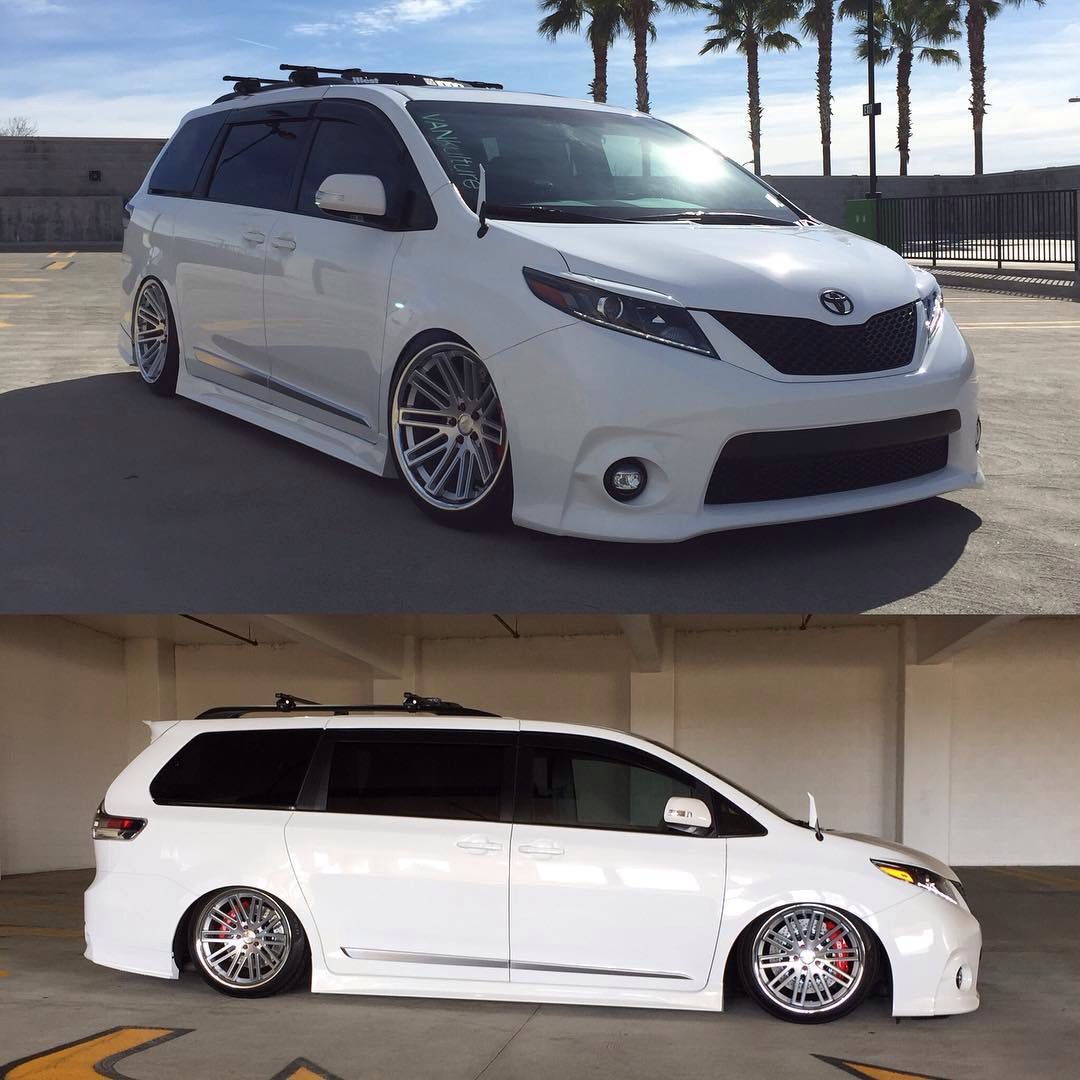 Toyota Awd Van: Toyota Sienna Modified By VANKulture Hot Hatch For The