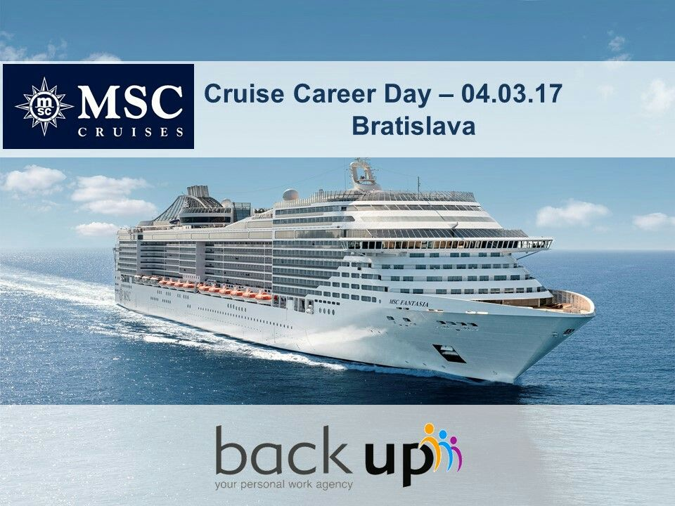 Cruise Career Day With MSC Cruises In Bratislava - Career at cruise ship