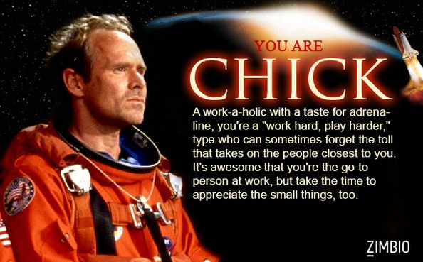 Which Armageddon character are you?