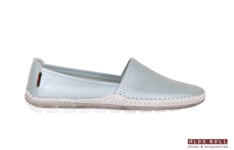 de1ab1ce4774e1 голубые мокасины   Обувь Alex Bell в 2018 г.   Pinterest   Belle