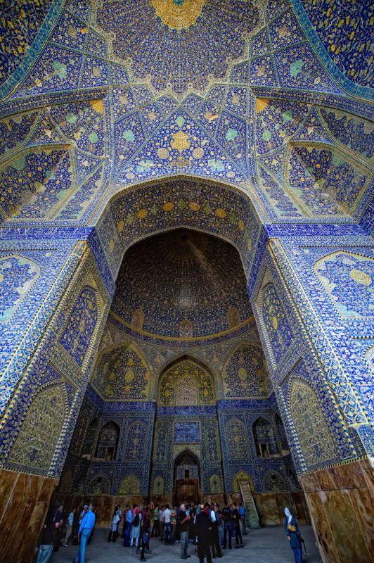 AMAZING ORNATE PERSIAN PALACE IRAN