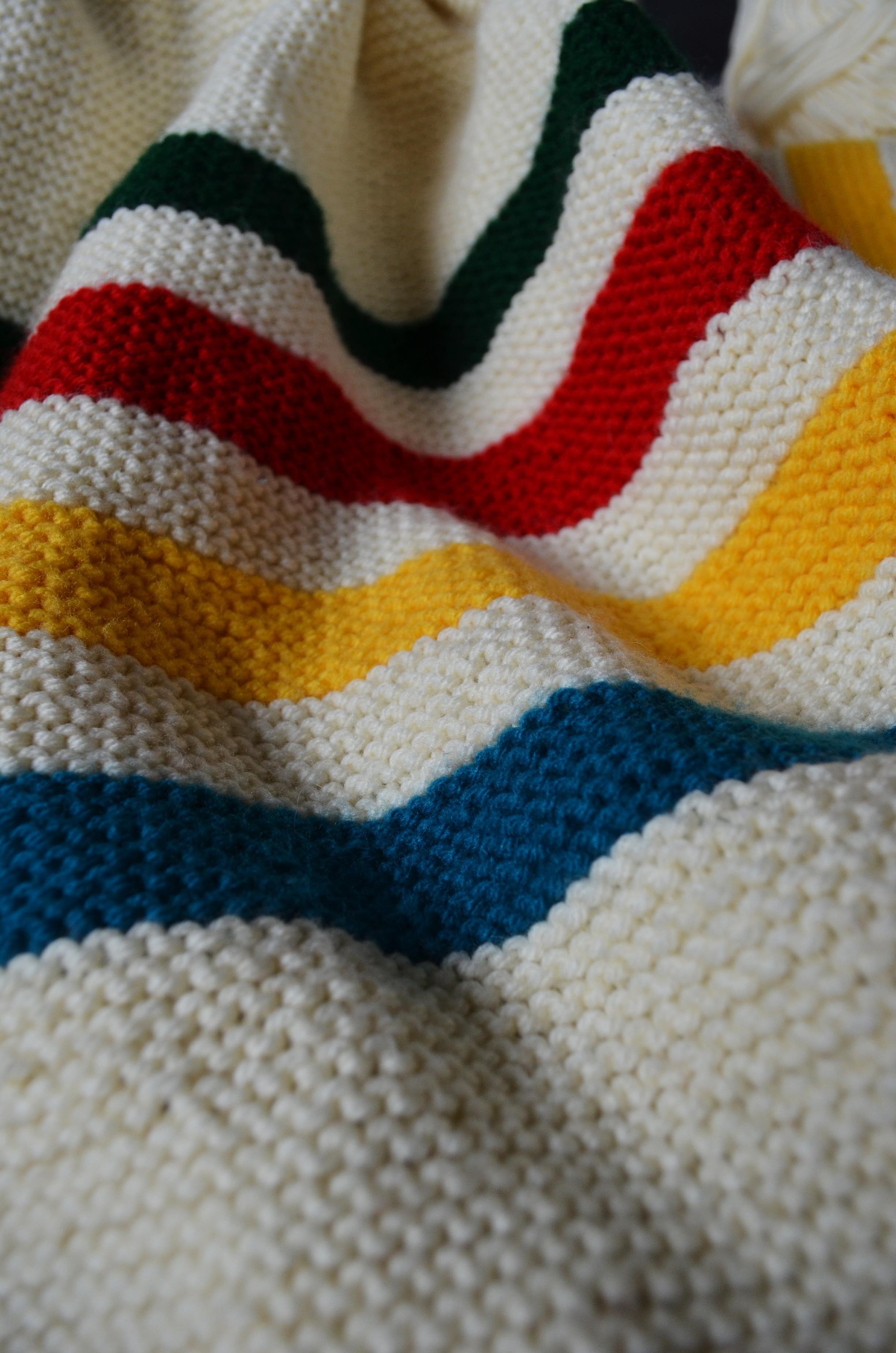 DSC_0396 | Yarn, Knitting Crochet | Pinterest | Crib blanket, Hudson ...