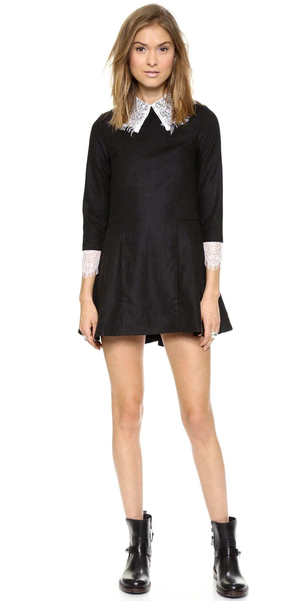 Unif Doll Dress Shopbop Designer Dresses Casual Fashion Clothes Design [ 2000 x 1016 Pixel ]
