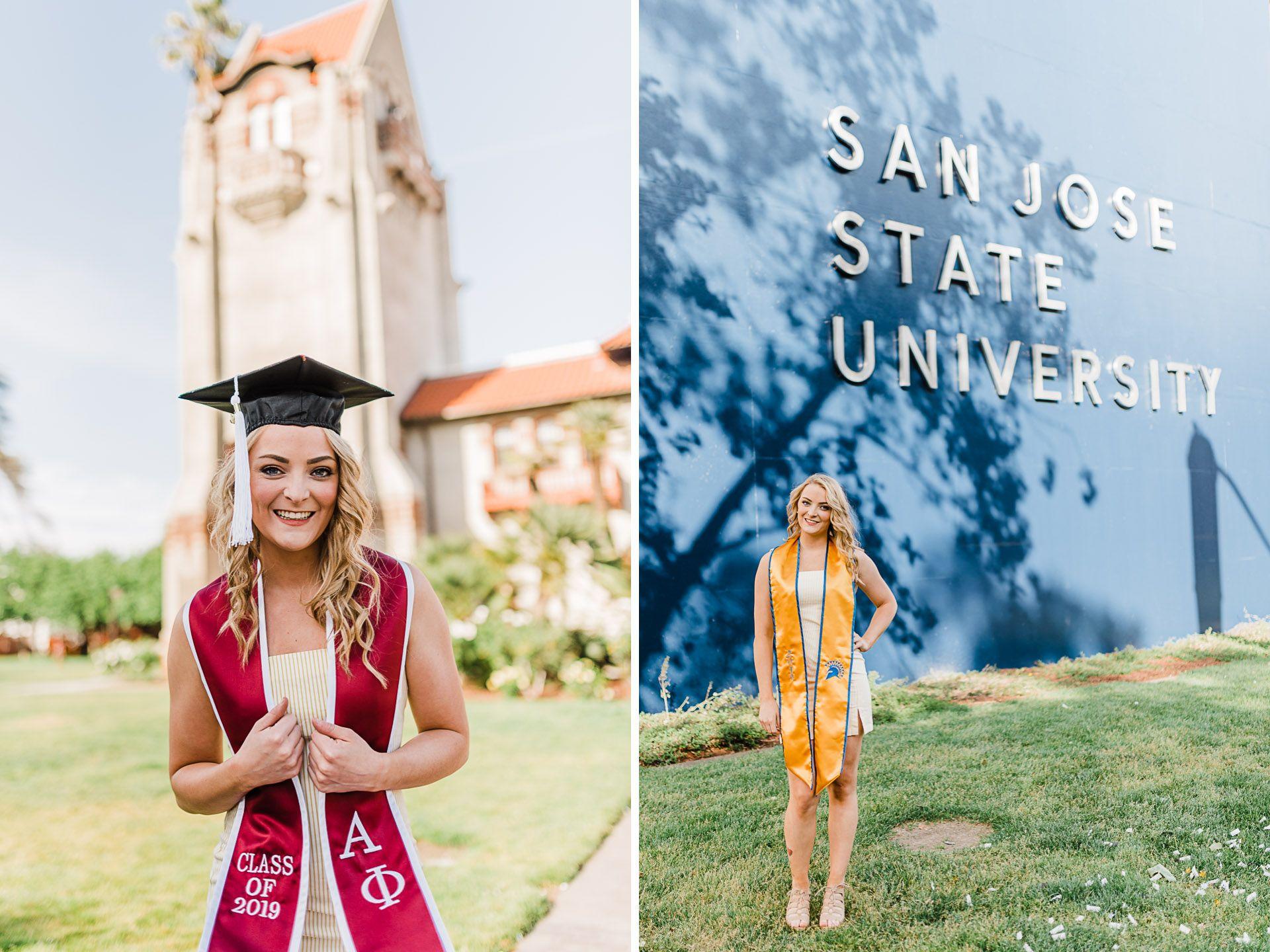 Nicole S Graduation Photos At San Jose State University San Jose