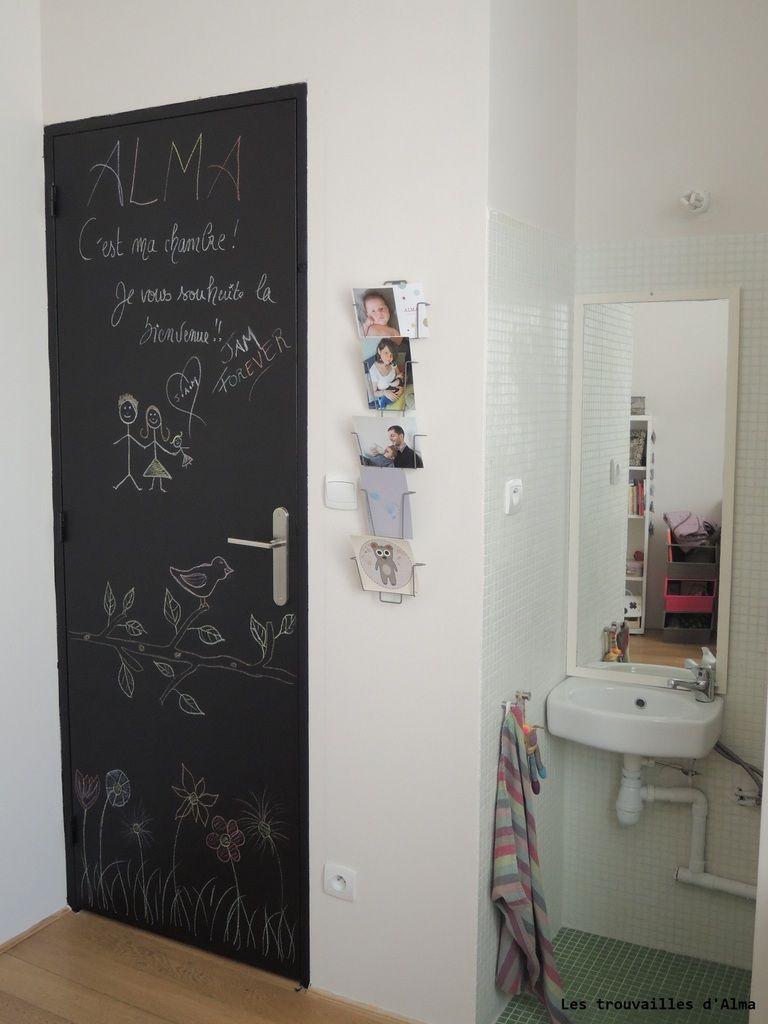 une peinture ardoise pour gribouiller sur les murs id es faire pinterest peinture. Black Bedroom Furniture Sets. Home Design Ideas