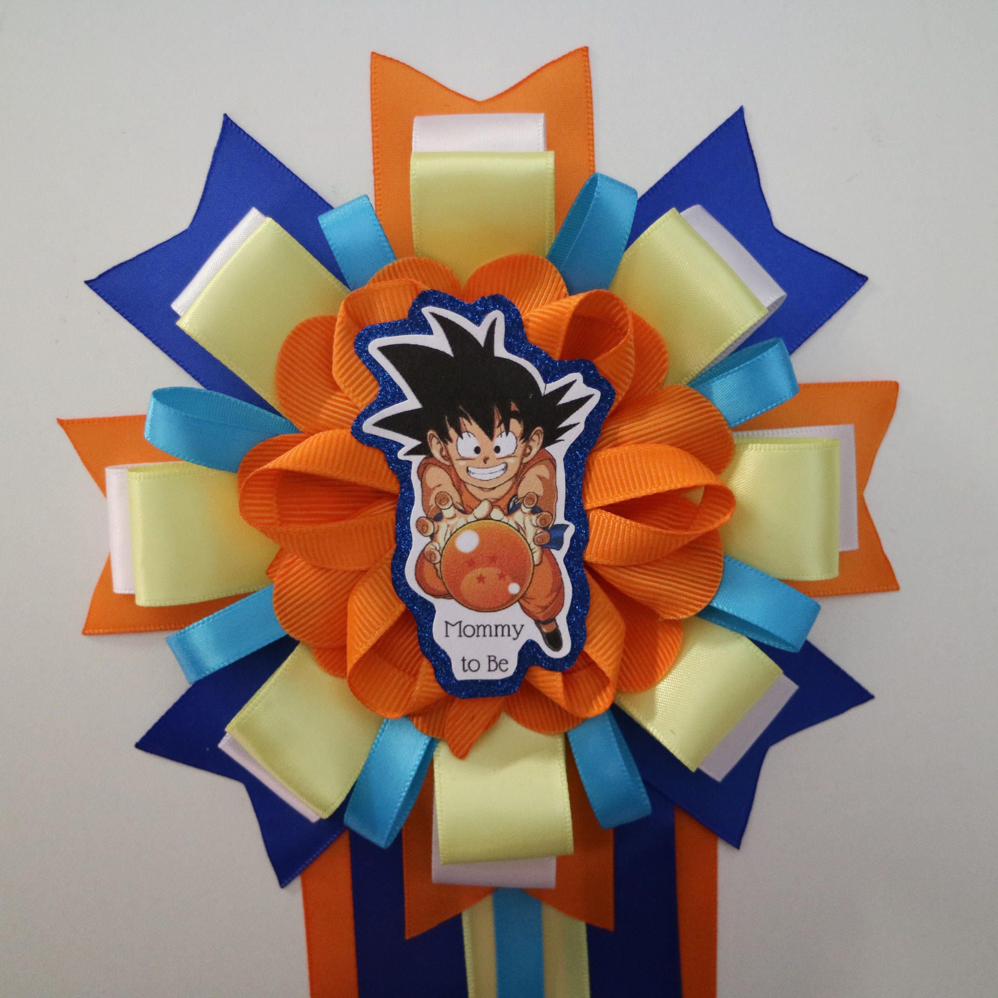 Dragon Ball Z Baby Shower Mommy To Be Corsage By Yeseniacouture On