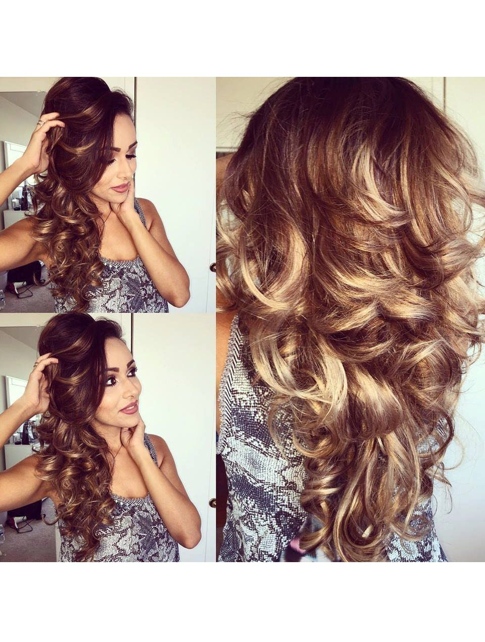 Easy And Bouncy Voluminous Curls Using Hot Rollers Hair Tutorial Curls For Long Hair Hot Rollers Hair Hair Styles