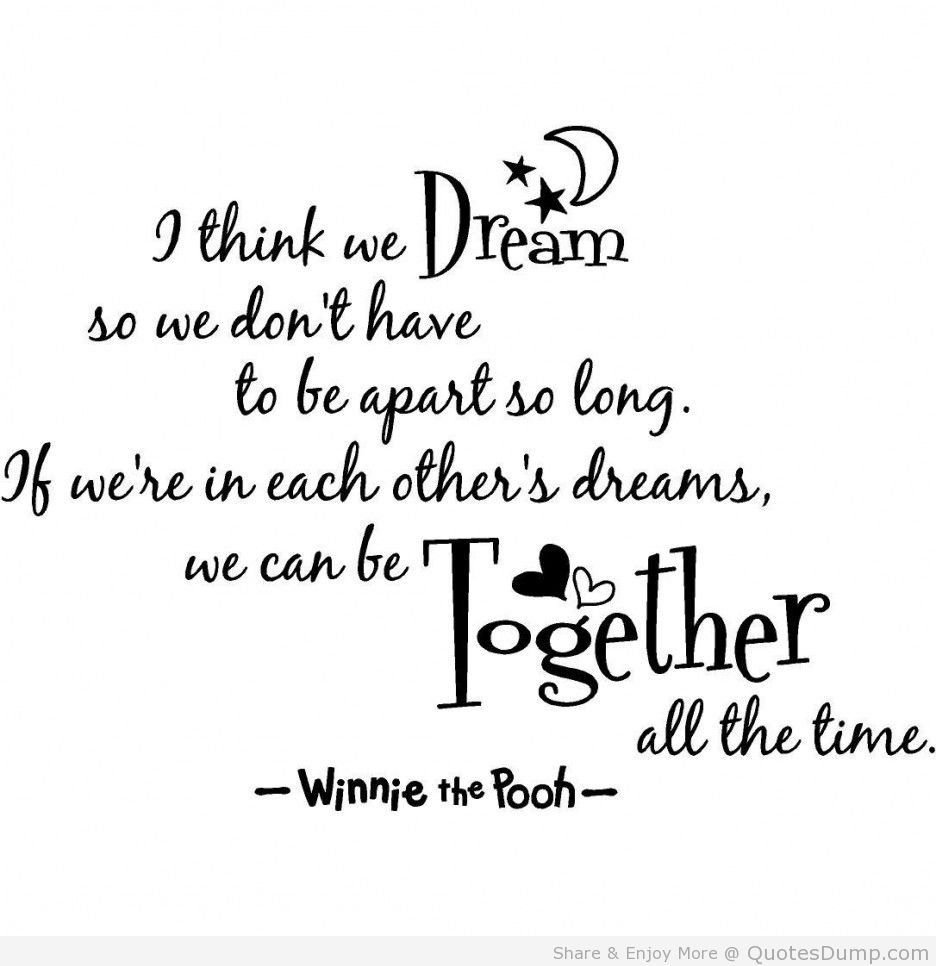 Sad Life Quotes We Dream Dream We Wedream  Quotes  Pinterest  Disney