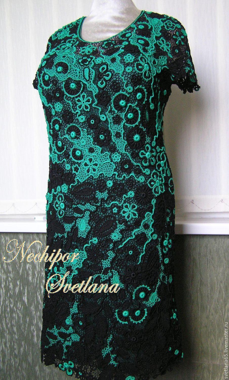 платье ирландское кружево схемы мк для начинающих
