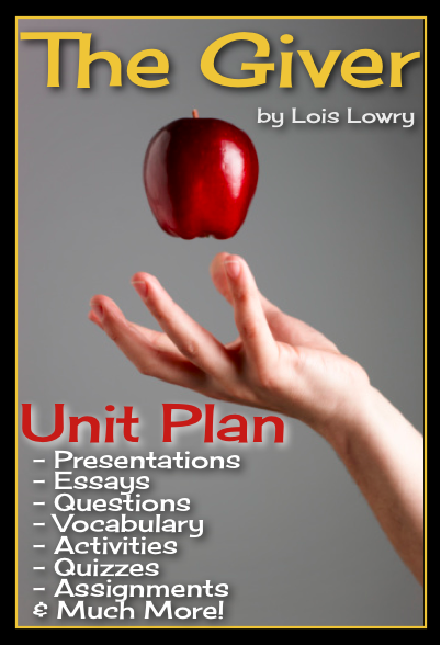 003 The giver unit plan Will have, Everything and It is