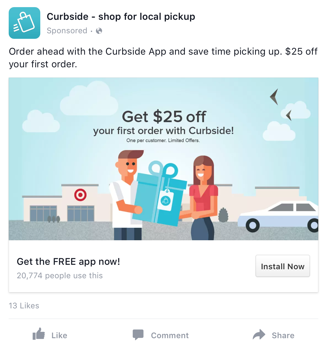 facebook app install ad example facebook app install ad examples facebook app install ad example
