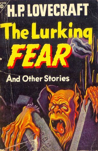 The Lurking Fear by H.P. Lovecraft   Lovecraft pulp