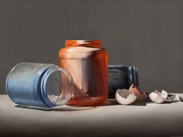 Jars and Shells Oil Painting Still Life - Zach Timberlake Fine Art