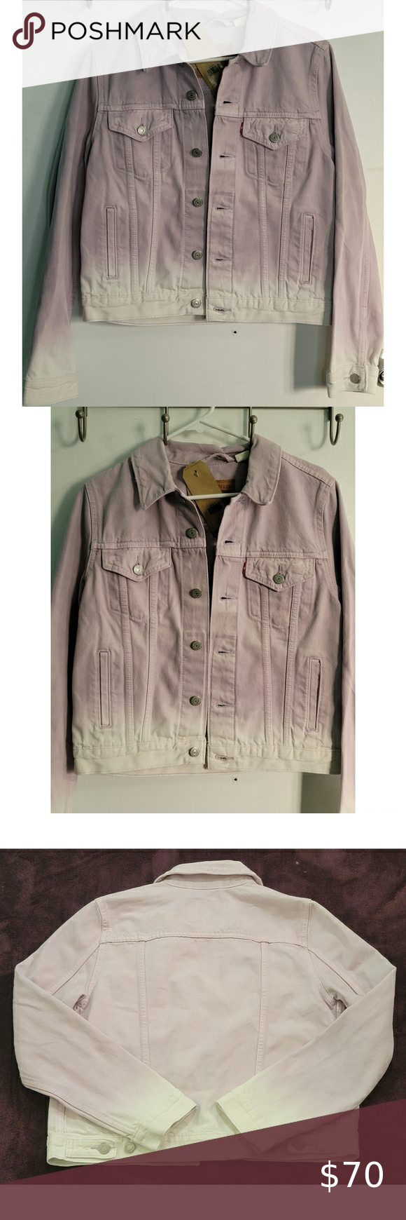 Levi's Orginal Trucker Jacket in Lavender Dip