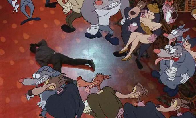 Cool World 1992 Disney Screencaps Doodle Cartoon Animation Cartoonist