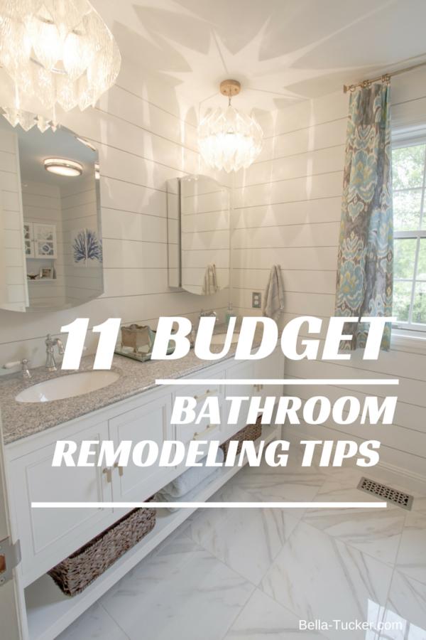 Bathroom Remodeling On A Budget Budgeting Blog And House Enchanting Bathroom Remodel Return On Investment