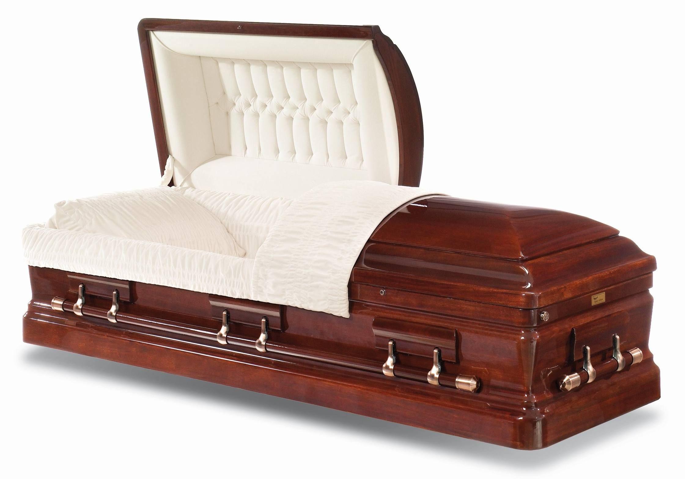 Capital Mahogany Wood Casket Wood casket, Mahogany wood