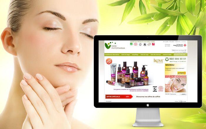 Site de e-commerce : Marque de compléments alimentaires naturels swissphytopharma....