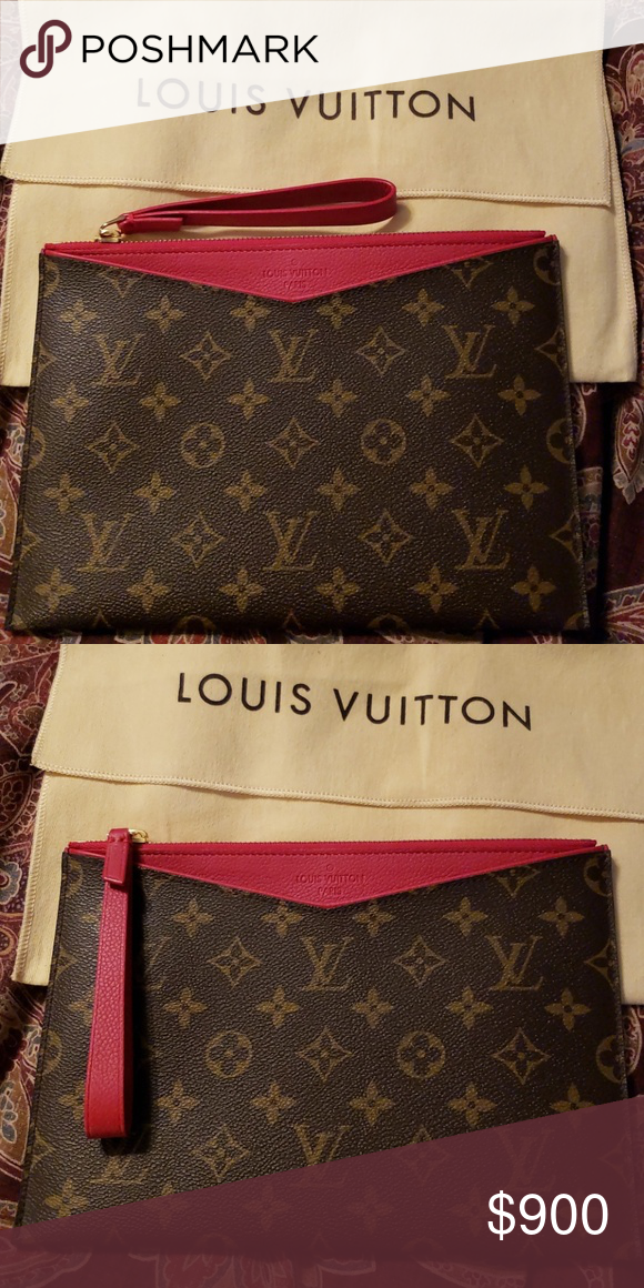 Louis Vuitton Envelope Clutch Daily Pouch Best Leather Wallet Wallets For Women Leather Wallet