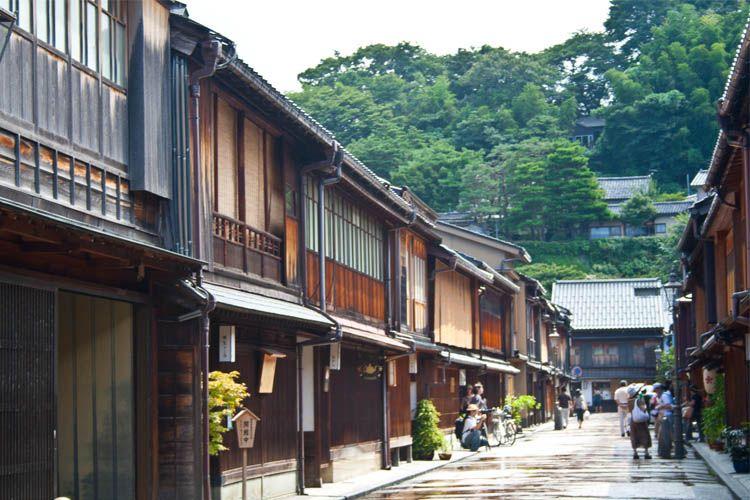 Ideas sobre qué ver y hacer en Kanazawa, ideas de turismo y de viajar por Japón.