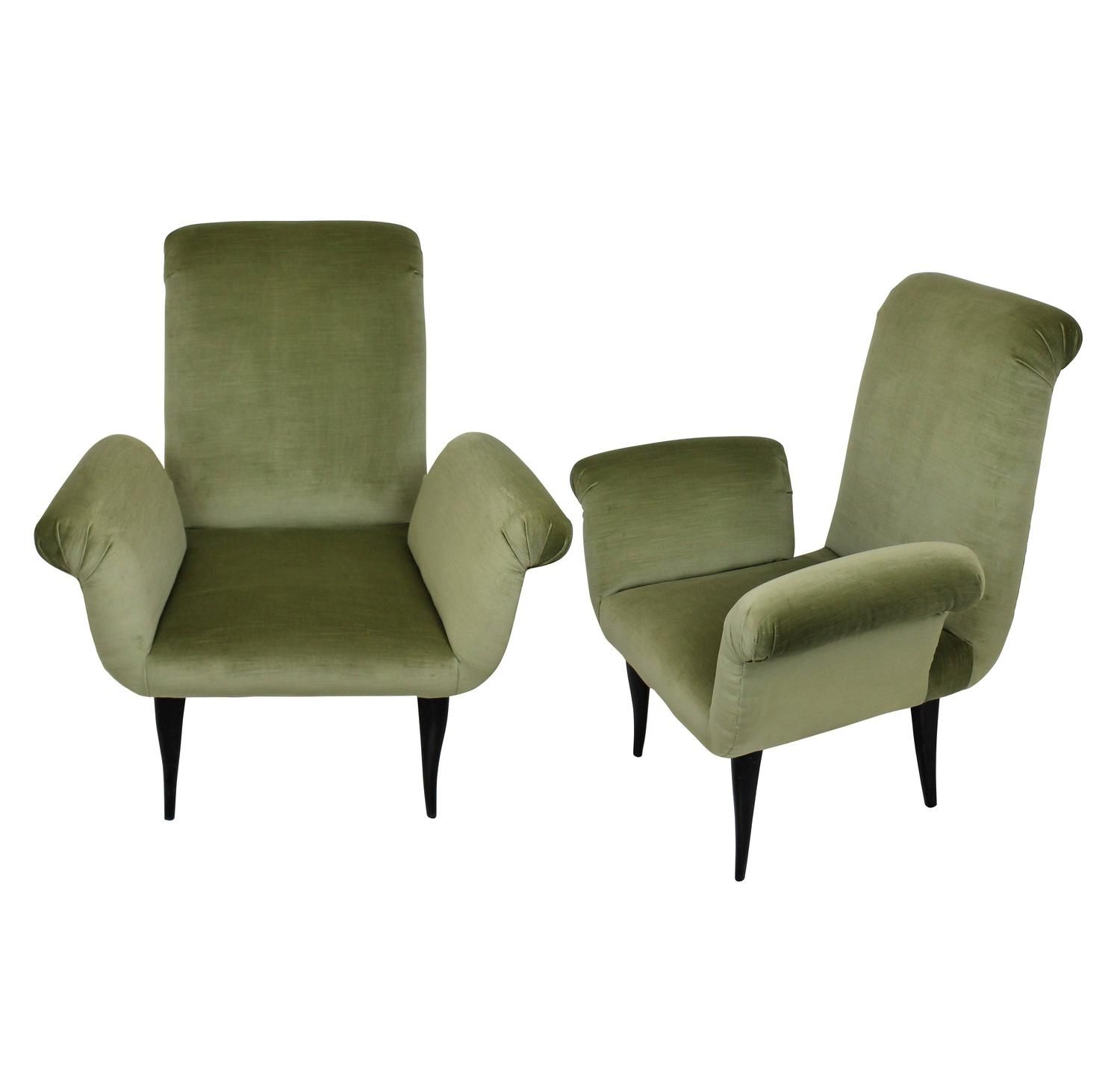 Pair Of Stylish Italian Bedroom Chairs Bedrooms Armchairs And