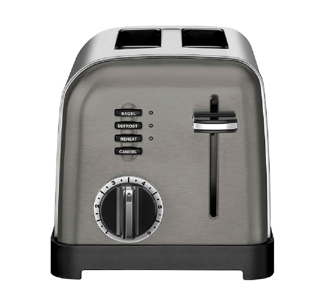 Cuisinart cpt160bks stainless steel toaster silver