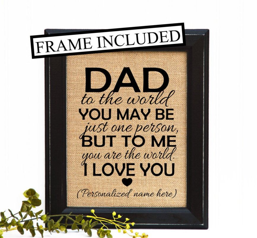 Father From Daughter Son Dad Birthday GiftGift Ideas For