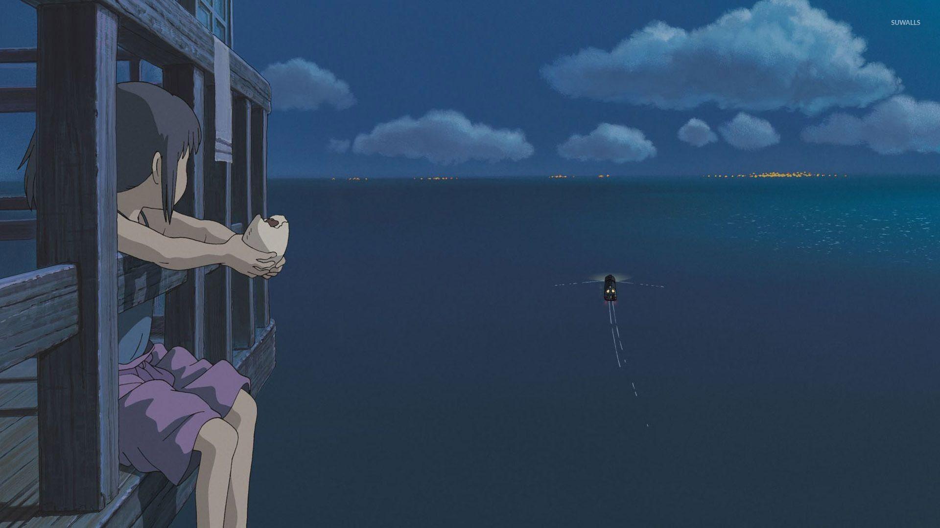 Unique Studio Ghibli Desktop Wallpaper In 2020 Spirited Away Wallpaper Anime Scenery Wallpaper Aesthetic Desktop Wallpaper