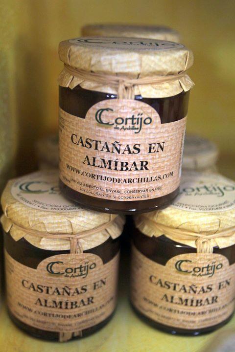 Castañas en almíbar #castañas #dessert #postre #ElAlmacendelIndiano