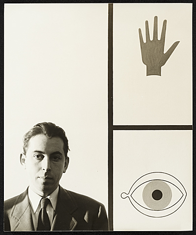 Citation: Alvin Lustig, ca. 1945 / unidentified photographer. Alvin Lustig papers, Archives of American Art, Smithsonian Institution.