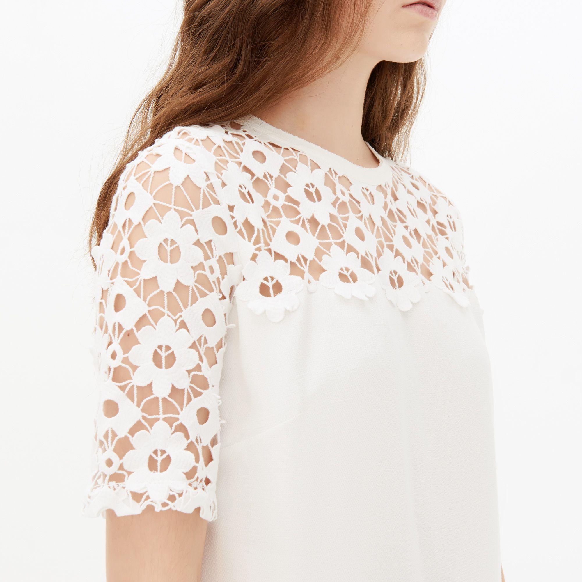 Sandro Et Broderie Decoupage Lace Dresses rYYXOxw