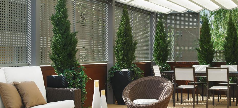 Celos as de exterior para terrazas y jardines en www for Celosias de jardin