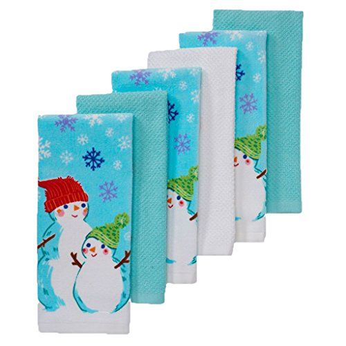 The Big One Christmas Snowman Kitchen Towels 6pack Find Out More