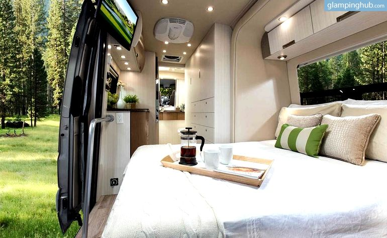Luxury Campervan Rental For West Coast Road Trips From Palm Springs California