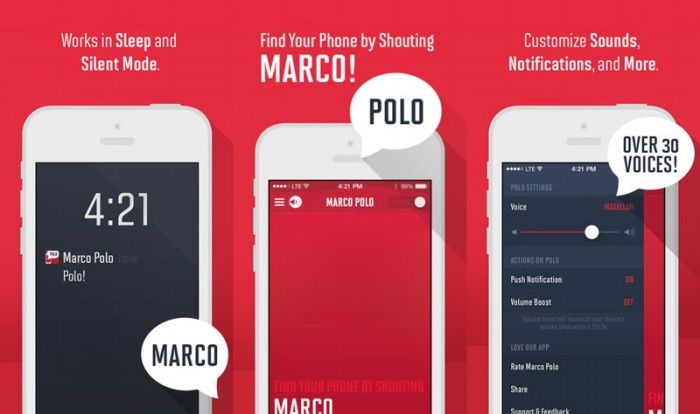 Yell 'Marco', Wait for 'Polo' App Turns Finding Your