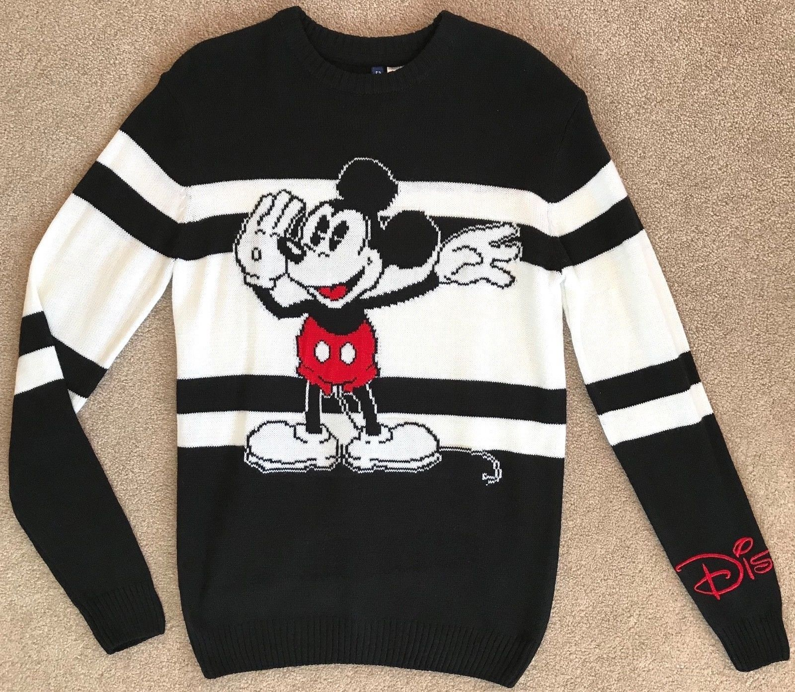 H M DISNEY MENS MICKEY MOUSE SWEATER NWT! XS NOT MOSCHINO  HM  Moschino   Hot  Trending  Fashion  Shop  Clothing  Trend  Popular  Buy  ad  Sponsored  ... 2519b27f1