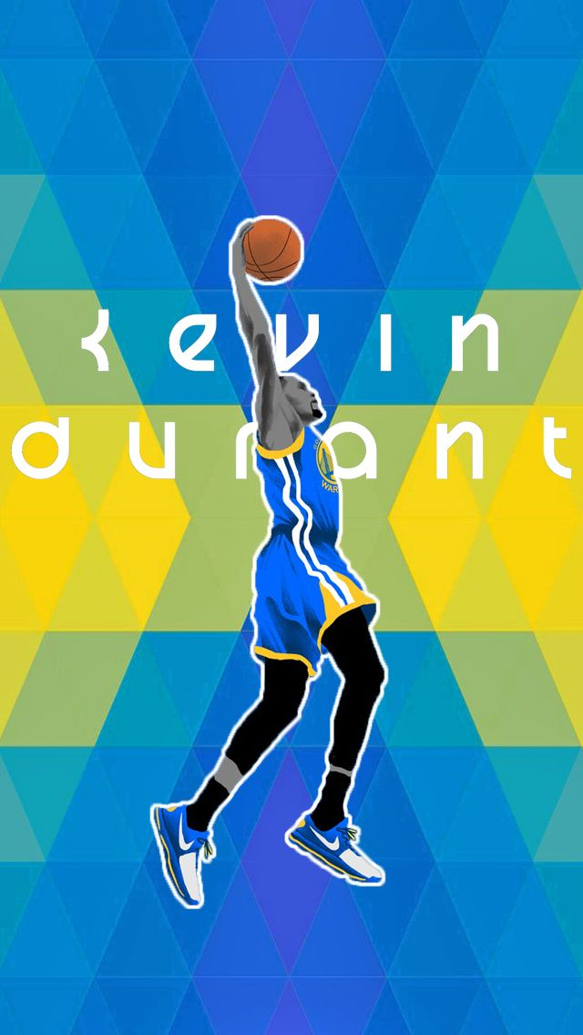 Kevin Durant Warriors iPhone 5s (640x1136) Nba kevin
