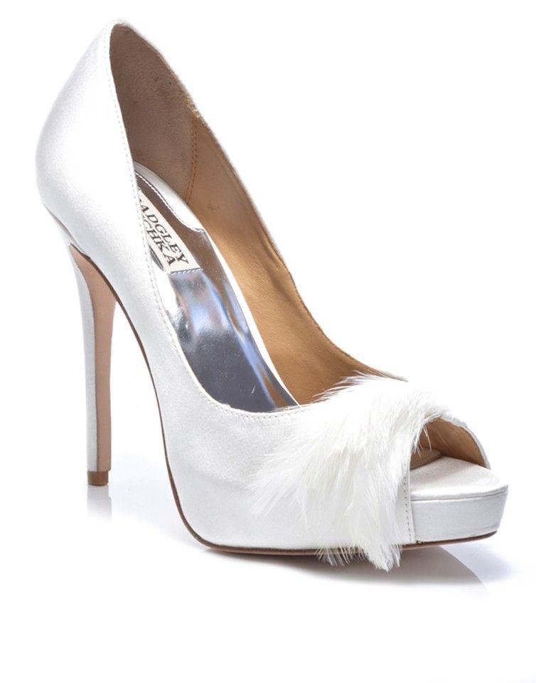 BADGLEY MISCHKA | Ginnie Heels in White - Women - Style36