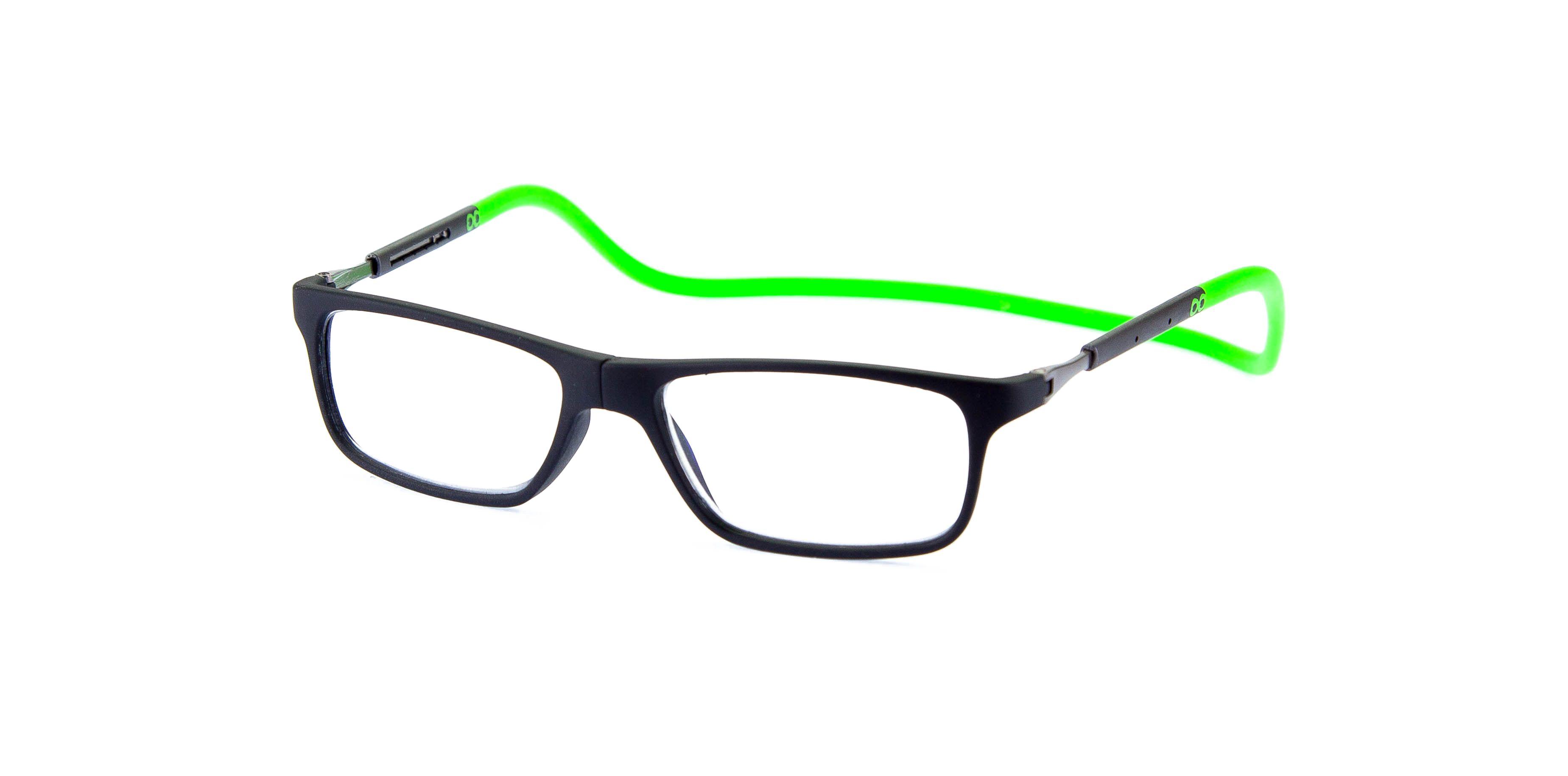 Gafas de lectura con conexión frontal. it's Slastik… it's