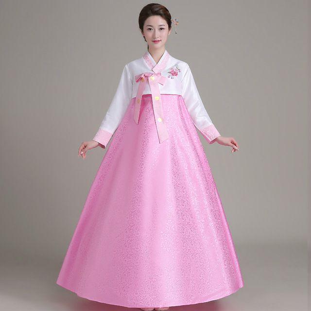 Nueva Llegada Coreano Hanbok Coreano de La Vendimia Vestido de Las ...