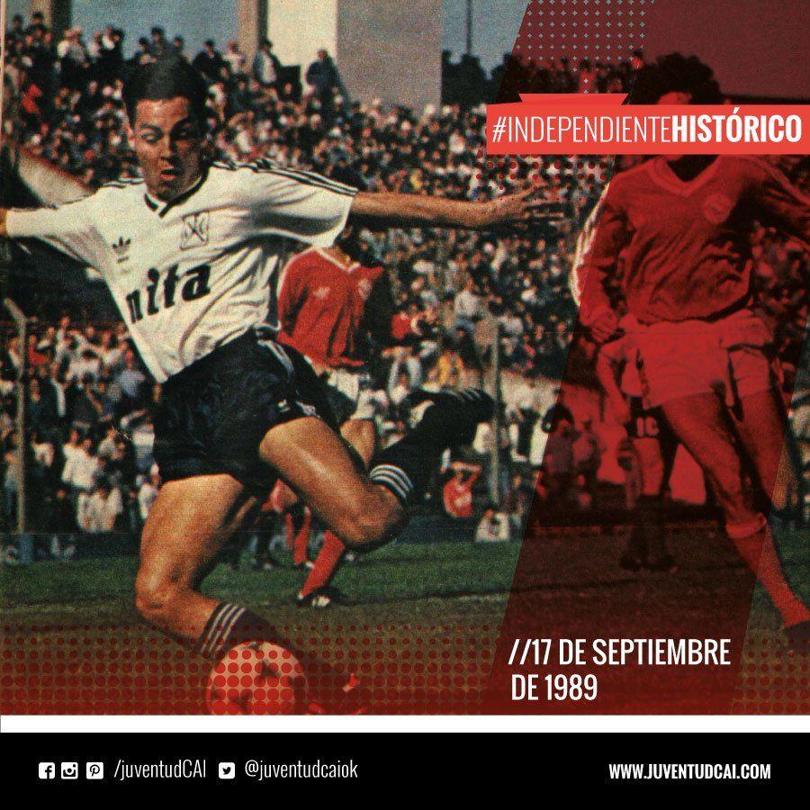 IndependienteHistorico Fecha 7 del Torneo 89/90.