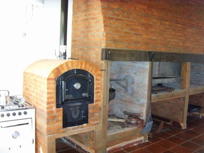 Resultado de imagen para parrilla con asador parrillas pinterest quinchos dise os de - Disenos de hornos de lena ...