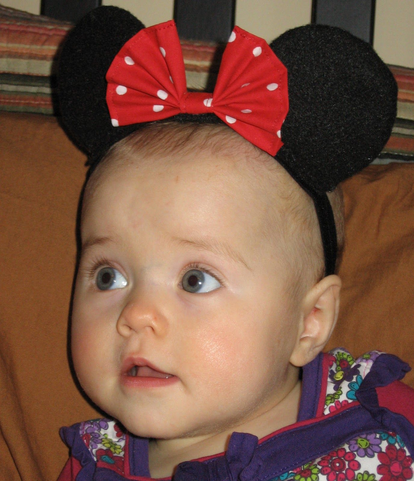My daughter has this darling red polka dot dress we bought for her the day  we found out she was a girl. So 09a997e367c