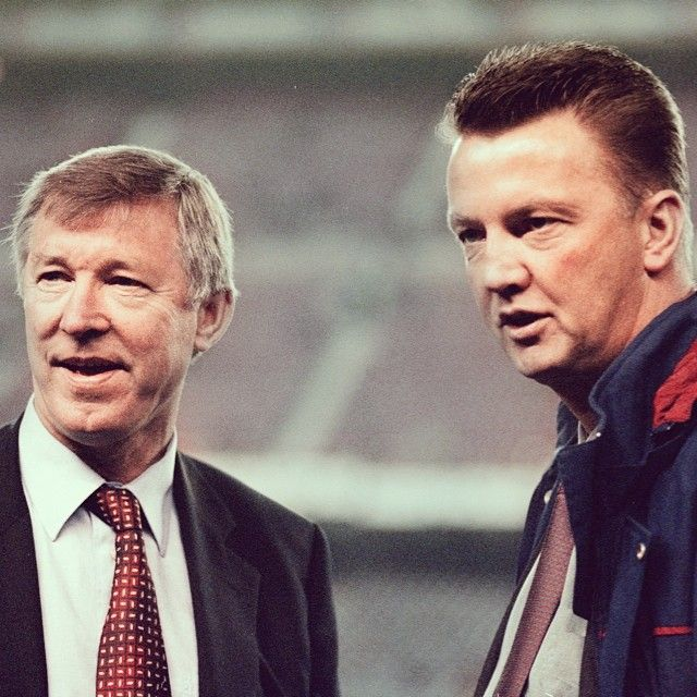 Did You Know Our New Manager Louis Van Gaal Faced Sir Alex Ferguson S Mufc On Four Occasions The Dutchman Took On The Reds During His Time With Barcelona An