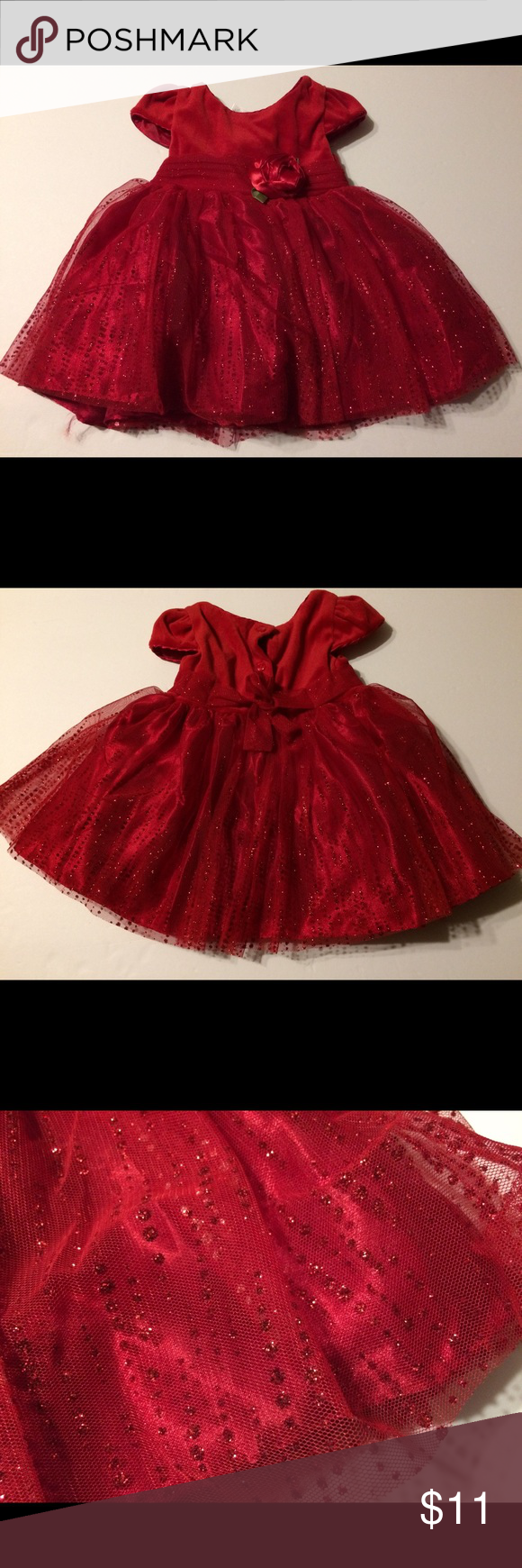 Baby girl red dress size months baby girl red dress size