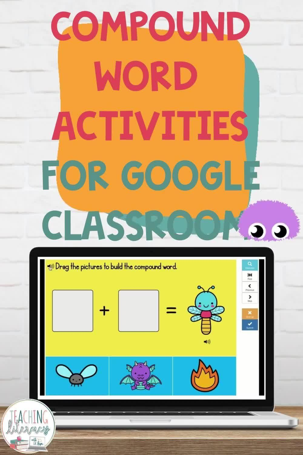Compound Words With Pictures Video Compound Words Preschool Learning Activities Reading Workshop [ 1500 x 1000 Pixel ]