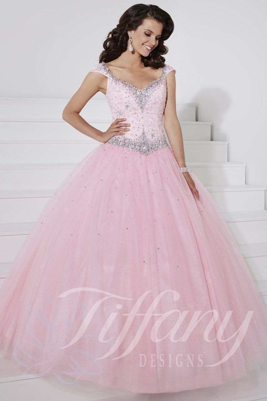 Tiffany Presentation Prom Dress 61126 | Tiffany, Prom and Tulle lace