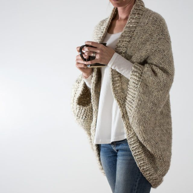 Oversized Jacket | Knitting patterns | Pinterest | Tejido