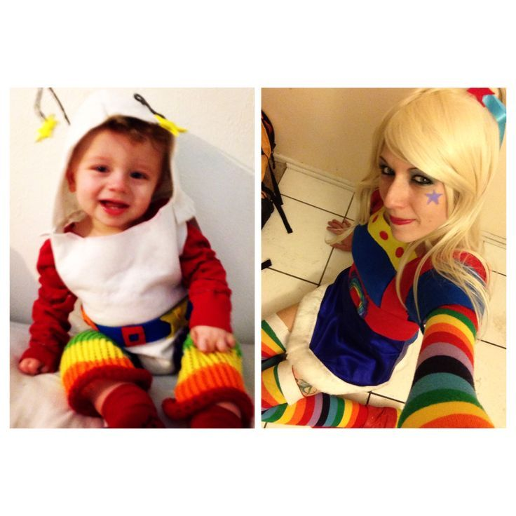 mom and son cosplay | Rainbow Brite and Twink costume mother and son  sc 1 st  Pinterest & mom and son cosplay | Rainbow Brite and Twink costume mother and ...